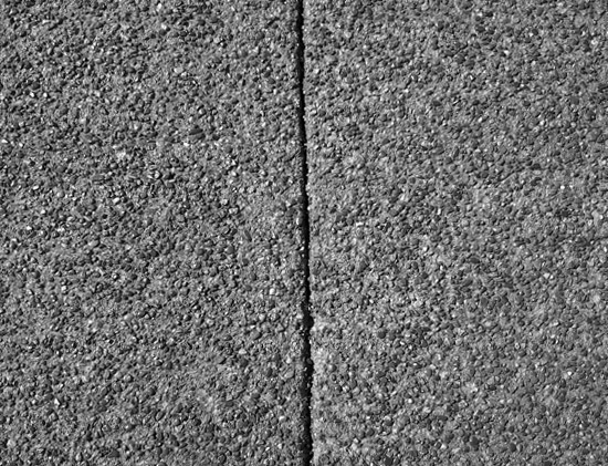 image of repaired concrete slabs